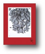 Heavy Snow Branch holiday card