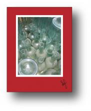Bottles holiday card