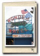 Wonder Wheel ferris wheel