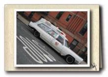 Ghostbuster ambulance