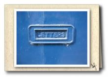 Letters - mail slot