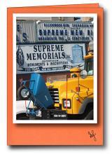 Supreme Memorial Truck