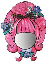 Magic Mirror with pink beehive hairdoo