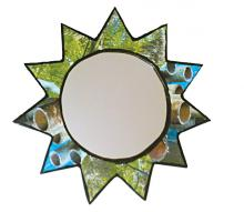 Magic mirror with star frame