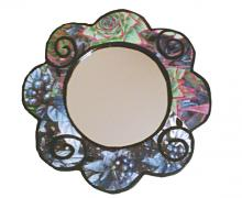 Magic flower mirror